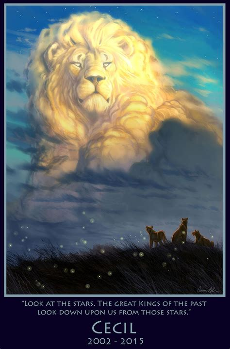 lion king artist paints majestic tribute  cecil