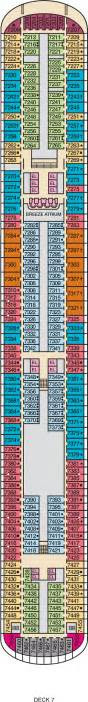 carnival sensation deck plan carnival deck plans cruise radio