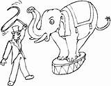 Circus Coloring Elephant Pages Freecoloringpagefun Halloween Elephants Sheet Printable Getcoloringpages sketch template