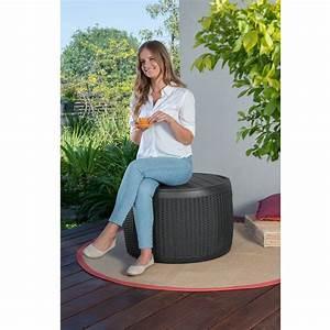 Auflagenbox Mit Sitzfunktion : tepro auflagenbox gartenbox kissenbox box rund tisch und sitzfunktion 143 liter ebay ~ Buech-reservation.com Haus und Dekorationen