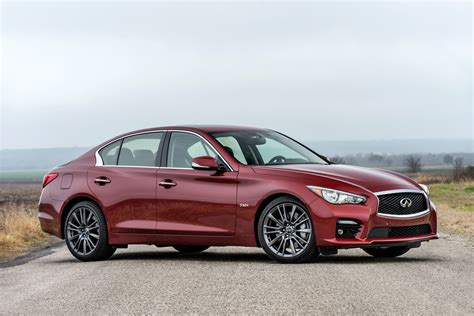 2016 Infiniti Q50 Red Sport 400 First Drive Review Motor