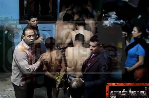 egyptian police arrest men at cairo bathhouse group sex party