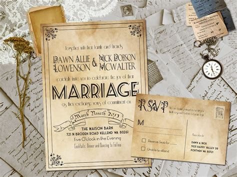 Barn Wedding Invitations : 20 Rustic Wedding Invitations Ideas