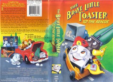 the brave toaster to the rescue trailer vhs brave toaster to the rescue 786936143164 ebay