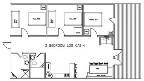 floor plans for log cabins 3 bedroom log cabin floor plans bellows afb 1 bedroom