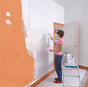 peindre un mur en blanc meilleures images d39inspiration With peindre un mur deja peint