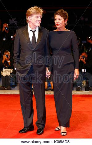 robert redford venice 2017 robert redford and sibylle szaggars celebrities at day 14