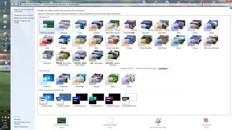 theme bureau windows 7 windows 7 changer le fond d 39 écran mettre un diaporama