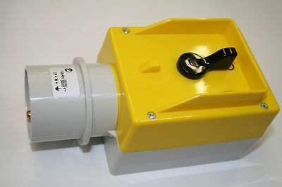 16a stecker mit schalter motor wendeschalter e t isobox 25a 7 5kw ip65 46501