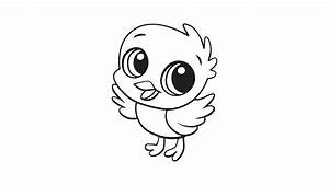 Baby Chick Coloring Printable