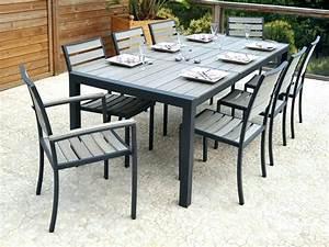 Table Jardin Pas Cher : table jardin aluminium pas cher st germaindubois ~ Teatrodelosmanantiales.com Idées de Décoration