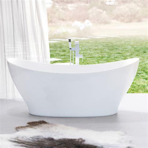 caroma cupid freestanding bath mm thrifty plumbing