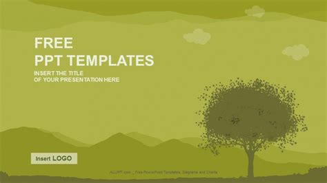 silhouette tree nature  templates