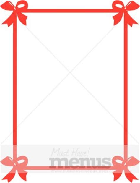 tied bows ribbon frame border archive
