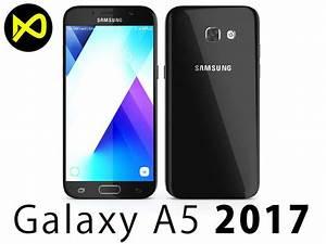 Handyhalterung Auto Samsung Galaxy A5 : 3d model samsung galaxy a5 2017 black cgtrader ~ Jslefanu.com Haus und Dekorationen