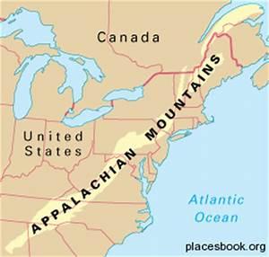 Information About Appalachian Mountains World Map Yousense Info