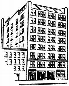 Eight Story Apartment Building | ClipArt ETC