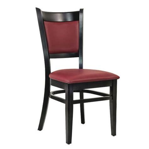 chaise bordeaux