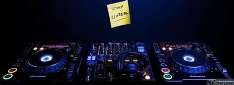 DJ Gone Clubbing Facebook Cover - fbCoverLover.com