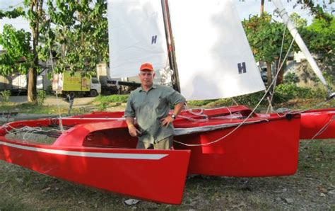 barton marine news   trimaran hot sailing   philippines
