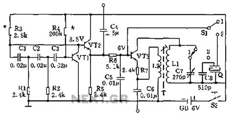High Low Frequency Signal Generator Circuit Diagram