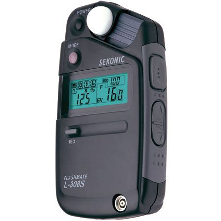 sekonic light meter sekonic l 308s light meter exposure meter flashmate 163 136