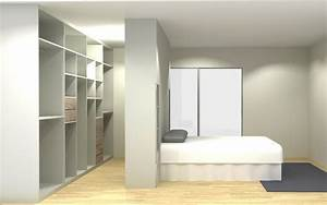 Faire Dressing Dans Une Chambre : dressing sur mesure nantes rangeocean ~ Premium-room.com Idées de Décoration