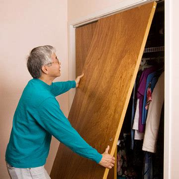 How To Fix Closet Sliding Door by Repairing Bifold And Sliding Doors How To Repair Any