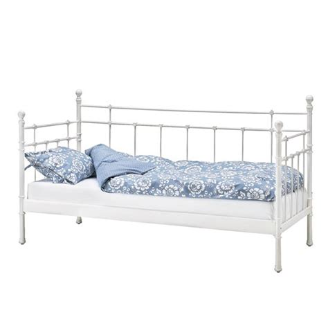 Shabby Chic Metal Headboard by Tromsnes Day Bed From Ikea Daybeds Photo Gallery