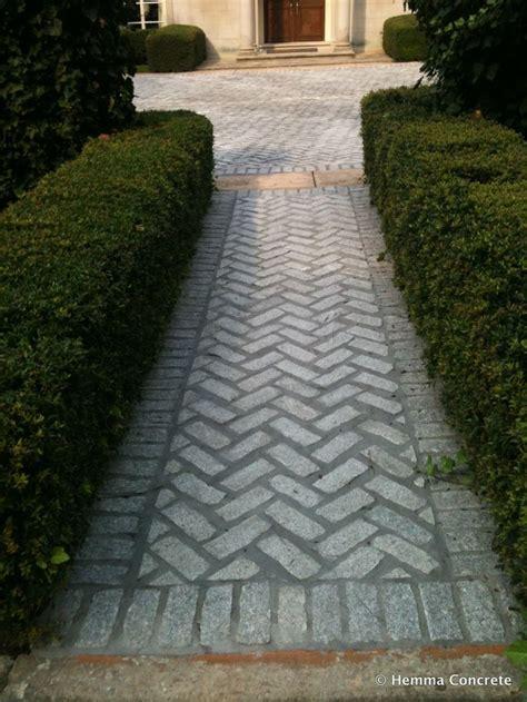 sidewalk paver patterns walk this way hemma installed paver sidewalk in a herringbone pattern sidewalks stairs