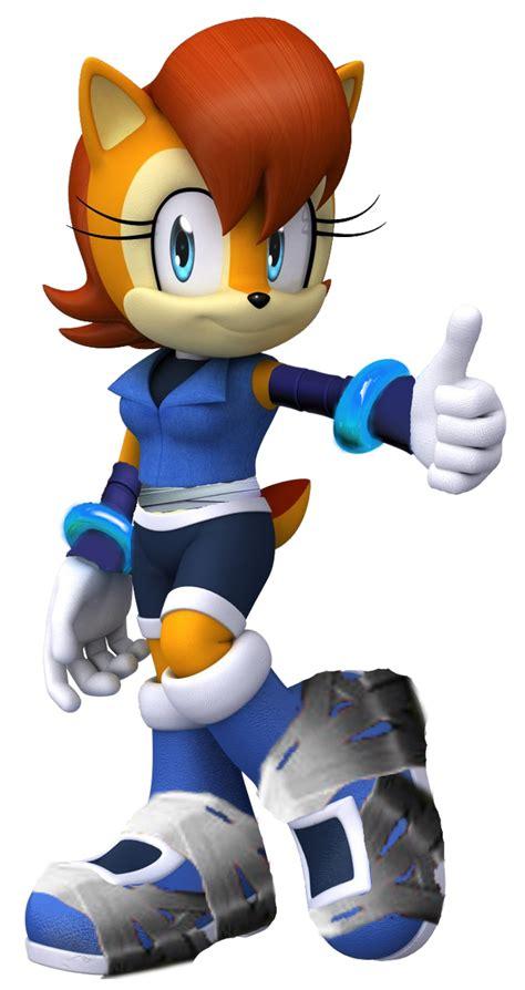Sally Acorn Sonic Boom By Silverdahedgehog06 On Deviantart