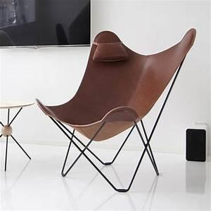 Butterfly Chair Original : leather butterfly chair by grattify ~ Sanjose-hotels-ca.com Haus und Dekorationen