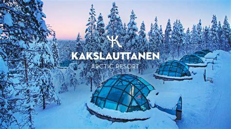 Kakslauttanen Arctic Resort Glass Igloos Inari