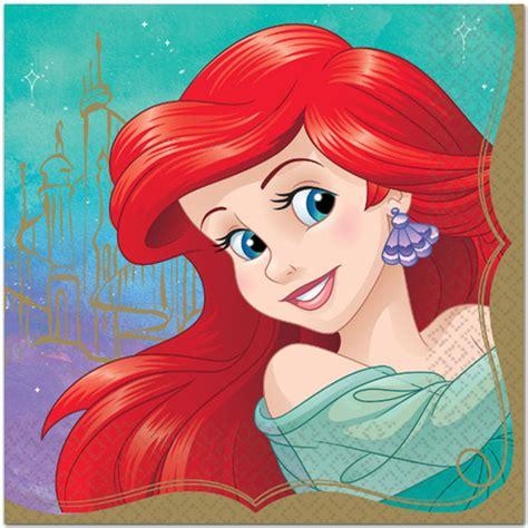 Disney Princess Ariel Lunch Napkins 16ct