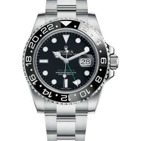 Rolex Mens Watch GMT Master Ceramic Bezel 116710