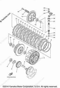 Yamaha Atv 2014 Oem Parts Diagram For Clutch