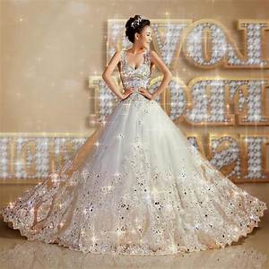 princess wedding dresses with diamonds and lace naf dresses With princess bride wedding dress
