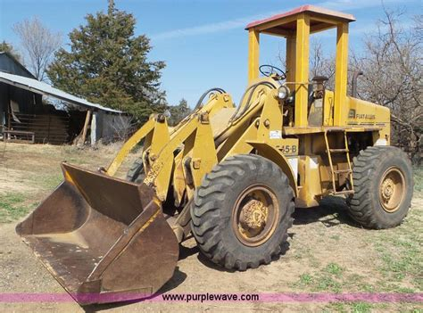 Fiat Allis Wheel Loader by 1969 Fiat Allis 545b Wheel Loader Item K6894 Sold