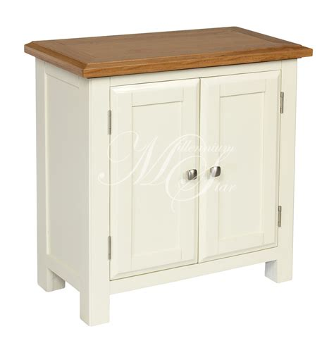 Small Storage Cupboards by Ivory Painted Oak Small Two Door Cupboard Cabinet Storage
