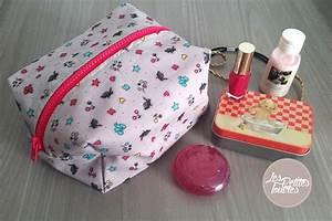 Petite Trousse Maquillage : ma petite trousse d 39 accessoires en tissu tuto de couture ~ Teatrodelosmanantiales.com Idées de Décoration
