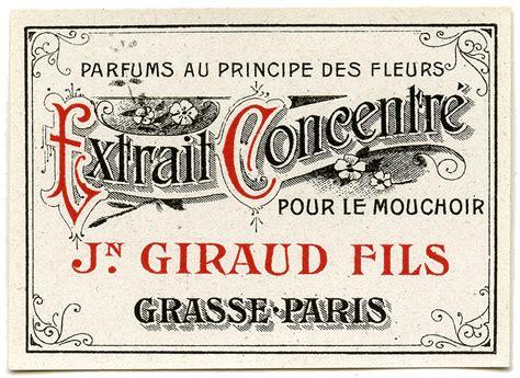 antique graphic fancy paris label  graphics fairy