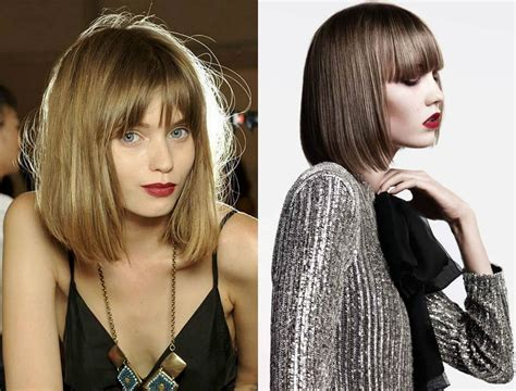 Bob Haircuts With Bangs To Get The Cutie Look