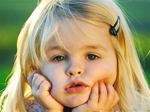 Cute Little Girl, Kid, Small Hand, Blue Eyes wallpaper ...