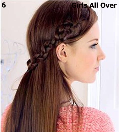 simple hairstyles for girls with long hair hairstyle for