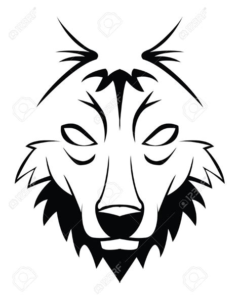 coyote clipart black and white white wolf clipart coyote pencil and in color white wolf