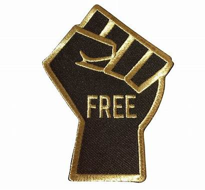 Freedom Fist Patch Dreams