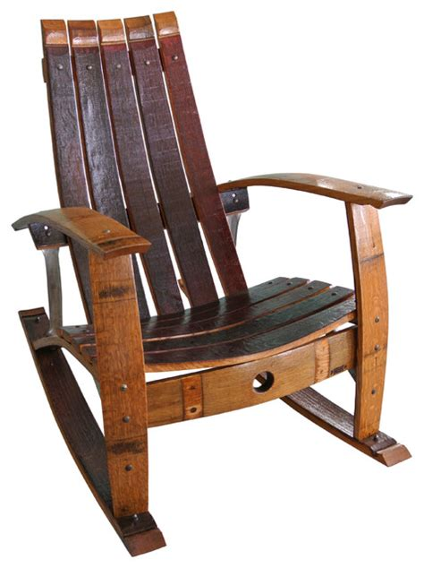 Tall Adirondack Chair Plans by Wine Barrel Furniture Outdoor Lounge Chairs Other