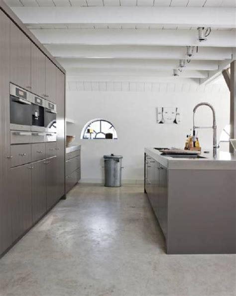polished concrete floors mad   house