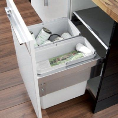Bins For Kitchen Cupboards by Oko Liner Pull Out Waste Bin For Recycling Kitchen Waste