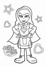 Coloring Supergirl Dc Hero Superhero Lego Printable Dibujos Colorare Disegni Sheet Adults Disney Amazing Kolorowanki Colorear Cartoon Drawing Bestcoloringpagesforkids Template sketch template